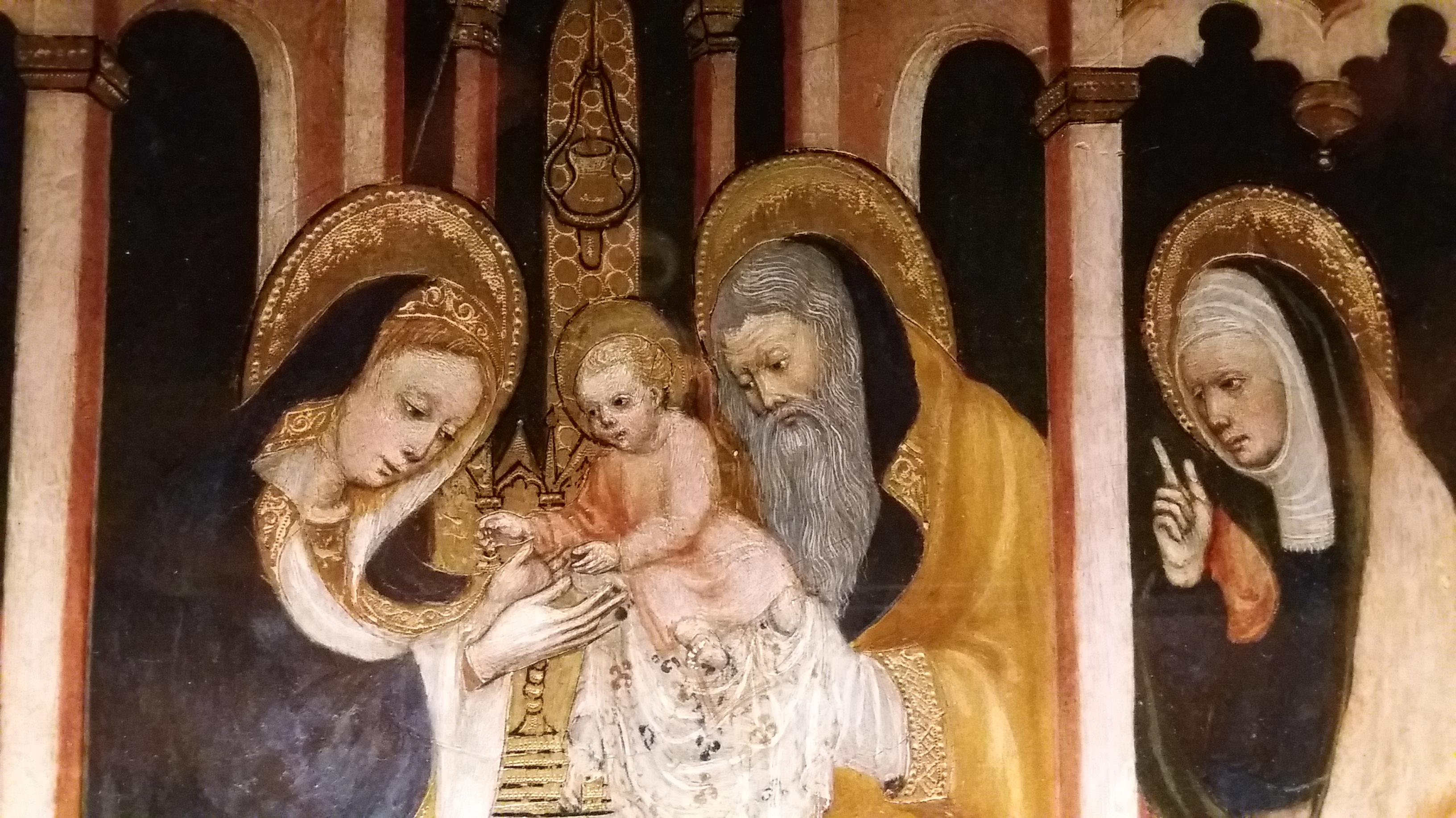 Madonna dell'Idea, Museo del Duomo di Milano (particolare).
